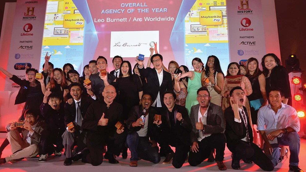 Leo Burnett / ARC Worldwide Wins Malaysian Overall Agency of the Year 2014