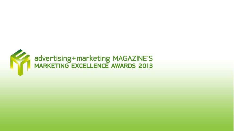 Marketing Excellence Award 2013