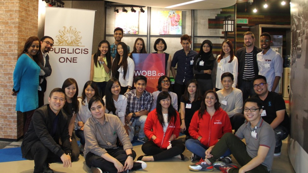 Malaysia Publicis One signs on graduates at the Apprentice-Inspired Media Camp
